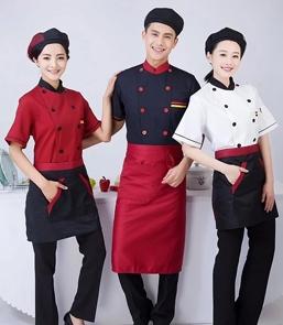 陕西厨师服订做